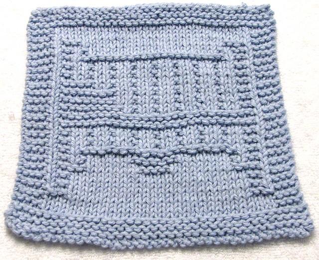 Elephant Washcloth Knitting Pattern : Knitting Pattern - CRIB Flickr - Photo Sharing!