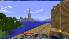 the lighthouse of alexandria halfway done