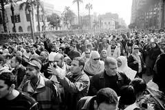 مسيرة الأساتذة تصل التحرير