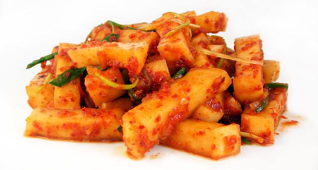 Kimchi van daikon aka rettich