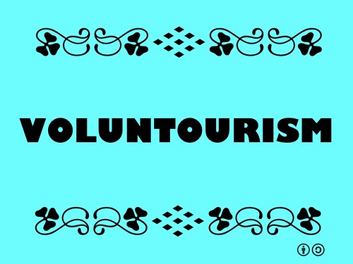Buzzword Bingo: Voluntourism