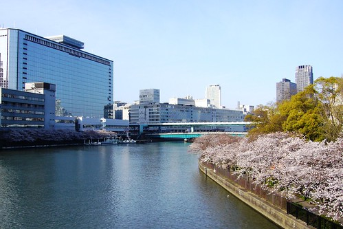 Sakuranomiya Park, South Side From Kawasakibashi Bridge