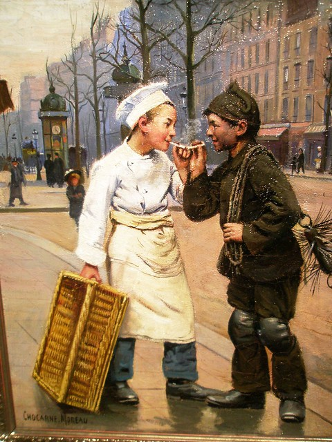 Paul Charles Chocarne Moreau 1855 1941 Baker S Boy And