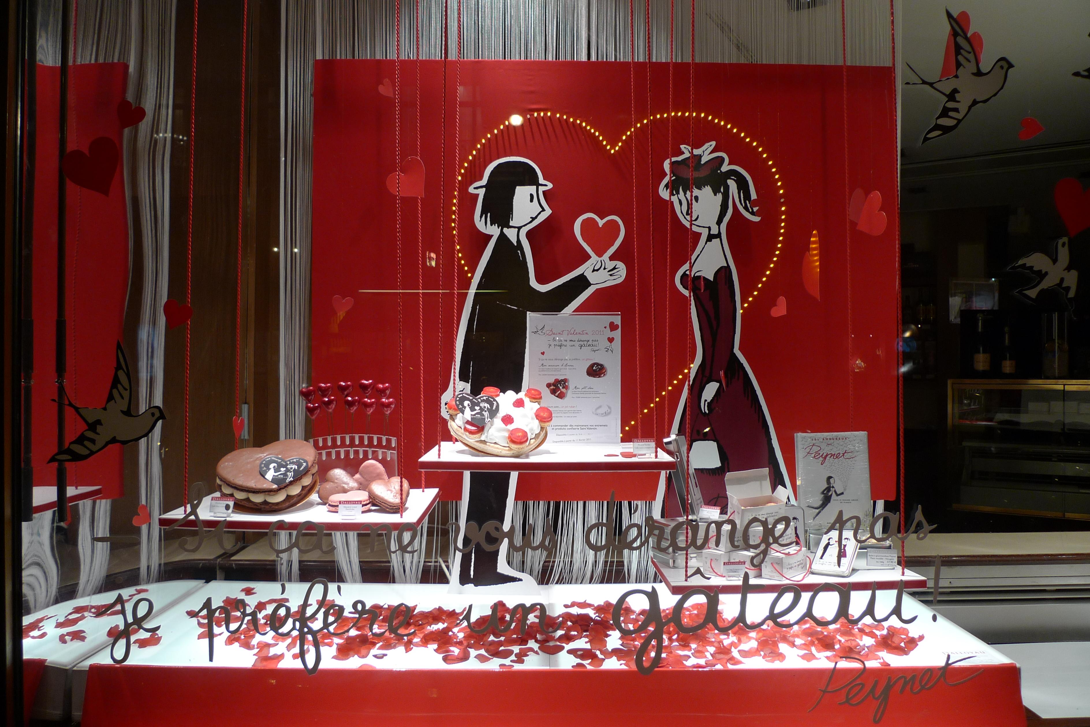 vitrine dalloyau saint valentin paris f vrier 2011 flickr photo sharing. Black Bedroom Furniture Sets. Home Design Ideas