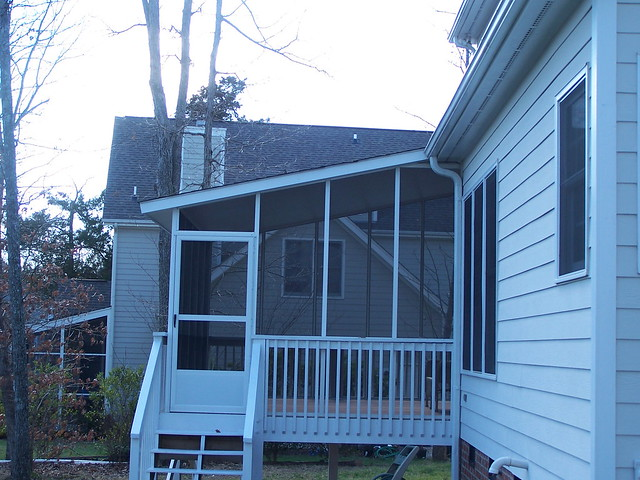 Pics of screened in porches on mobile home joy studio for Screened in porch ideas for mobile homes