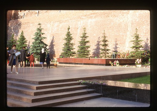 Tomb of the Unknown Soldier, Moscow, 1969