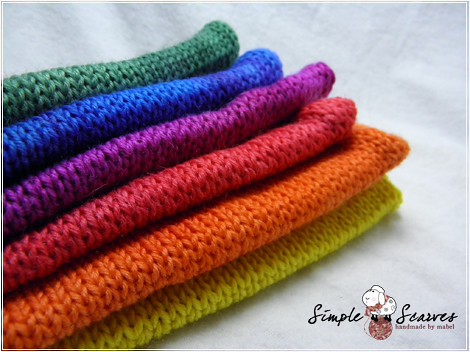 Handdyed Comfy Sock in Rainbow | by meiteoh