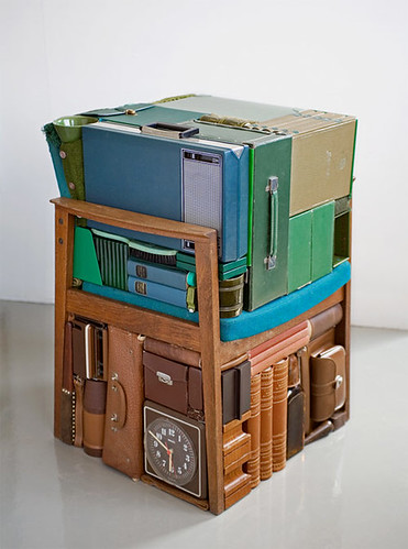 Tetris in the real life by the artist Michael Johansson