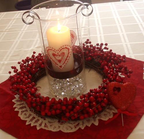 Dining delight valentine centerpieces