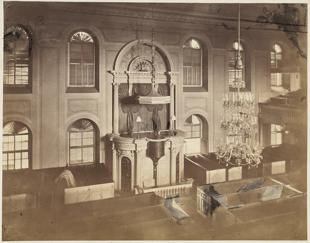Interior Of Old South Before It Was Remodelled For Post Office Flickr Photo Sharing