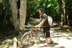 La mejor opción de visitar el enorme complejo de Cobá es alquilando una bicicleta. cobá, la apocalíptica ciudad del fin del mundo - 5476701043 8dd2139f92 m - Cobá, la apocalíptica ciudad del fin del mundo
