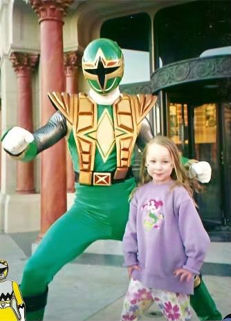 Green Samurai Power Ranger at Hollywood Studios | www welove