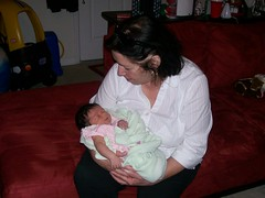 Christine and Grace, Granddaughter
