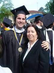David and Christine at his College Graduation