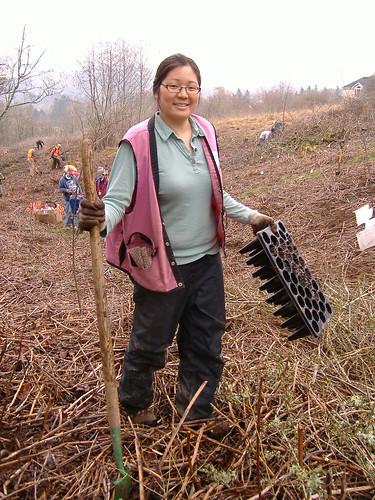 March 5, 2011 Clatsop Butte Planting