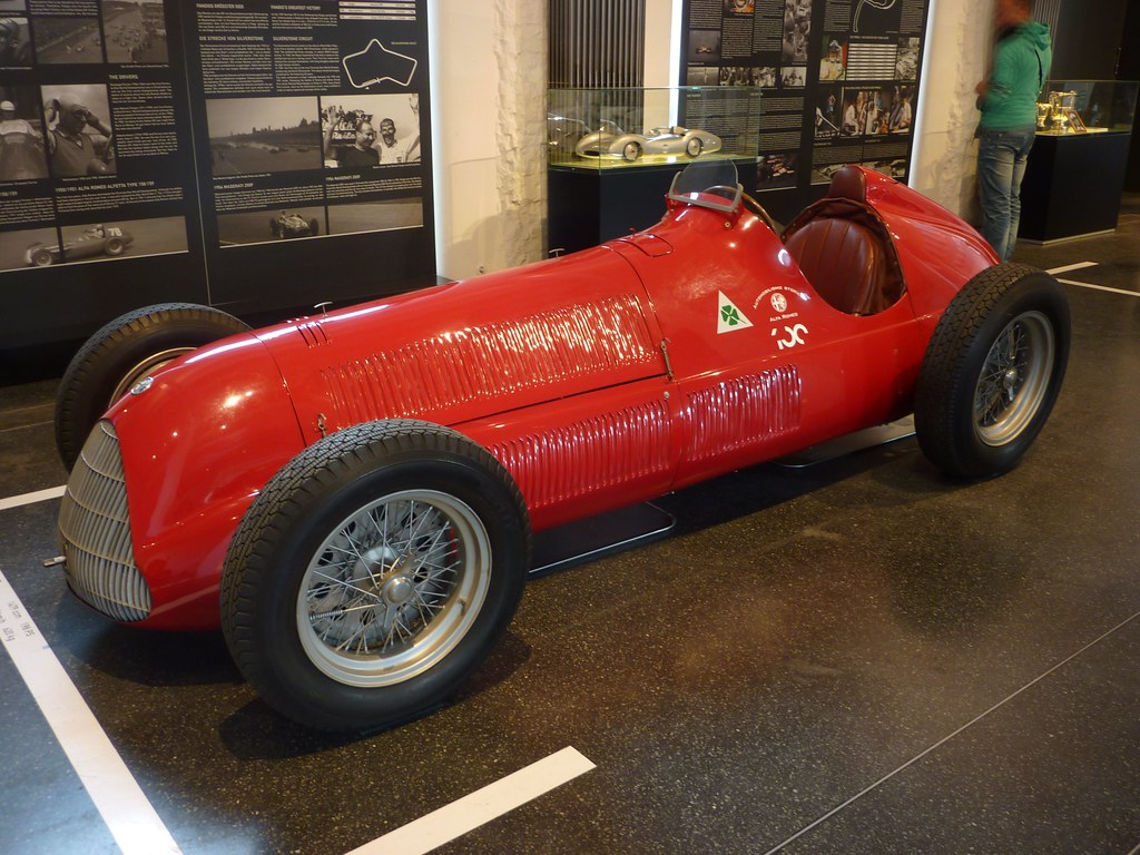 Alfa Romeo Alfetta Tipo 158 1950 F1 Winner Car A Photo On Transaxle