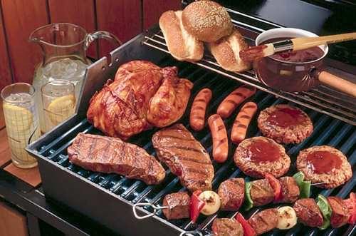 Barbecue-gas