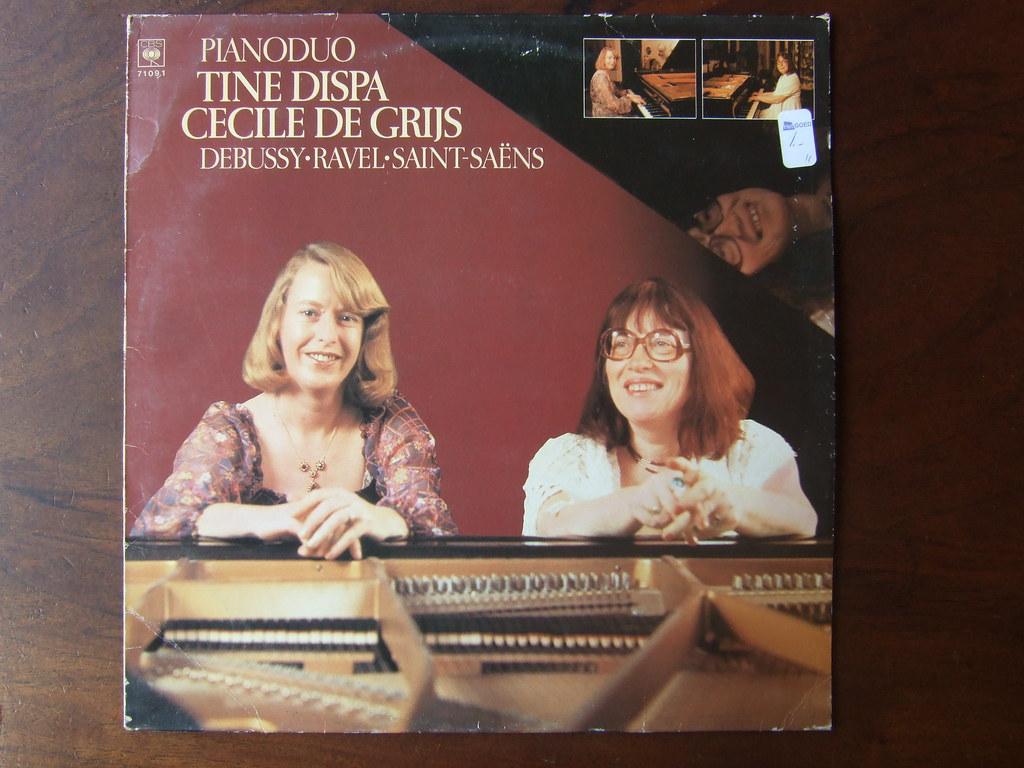 Debussy, Ravel, Saint-Saens - Piano Duo Tine Dispa, Cecile De Grijs, CBS 71091