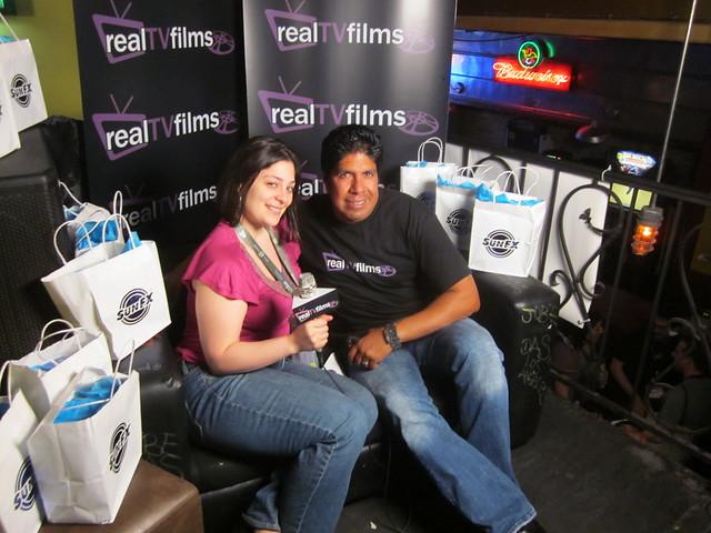 Alessandra Alma, Gordon Vasquez, IndieGoGo Filmmaker Party, SXSW 2011