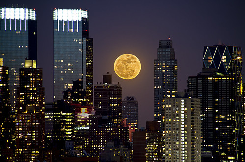 | Super Moon Over NYC |