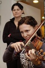 auntie M on violin