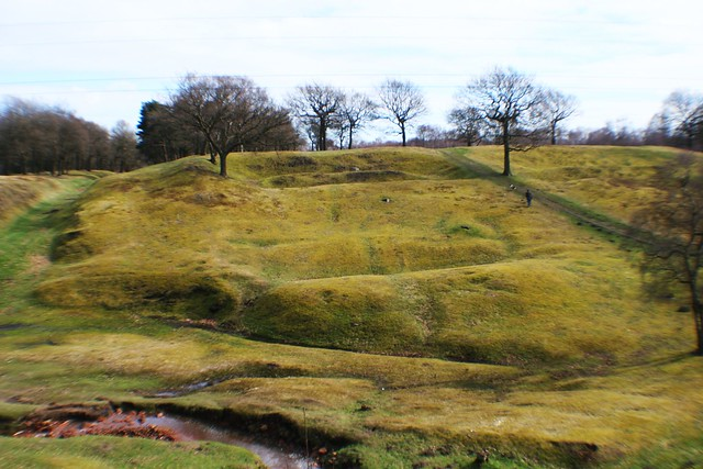 Rough Castle at Bonnybridge, Scotland