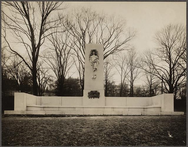 Francis Parkman memorial, Olmstead Park
