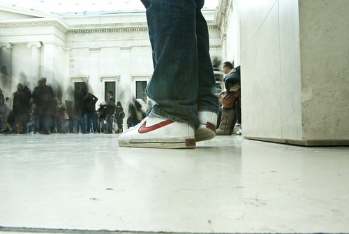 At the British Museum – Nike