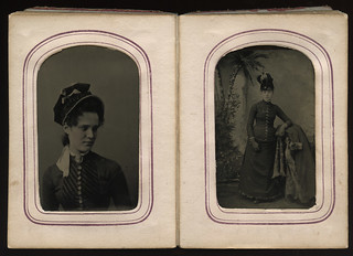 Victorian photographic portraits of people join group