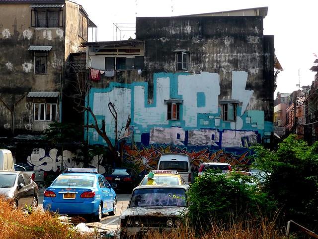 streetart | 1up | bangkok