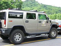 hummer h1(0.0), hummer h3t(0.0), automobile(1.0), automotive exterior(1.0), military vehicle(1.0), sport utility vehicle(1.0), vehicle(1.0), hummer h2(1.0), bumper(1.0), land vehicle(1.0), luxury vehicle(1.0),