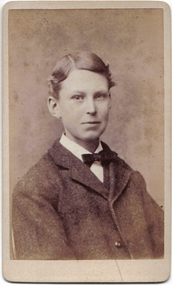 Butler Album: Unknown Young Man