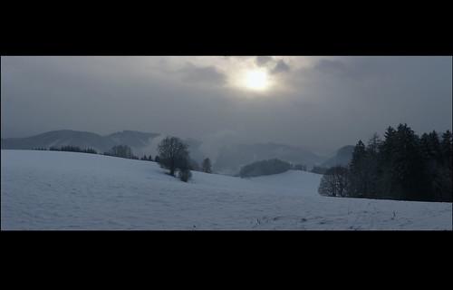 winter panorama snow alps landscape austria österreich europe dreamy bluehour steiermark leoben sigma1770 göss sonyalpha700 pampichlerwarte