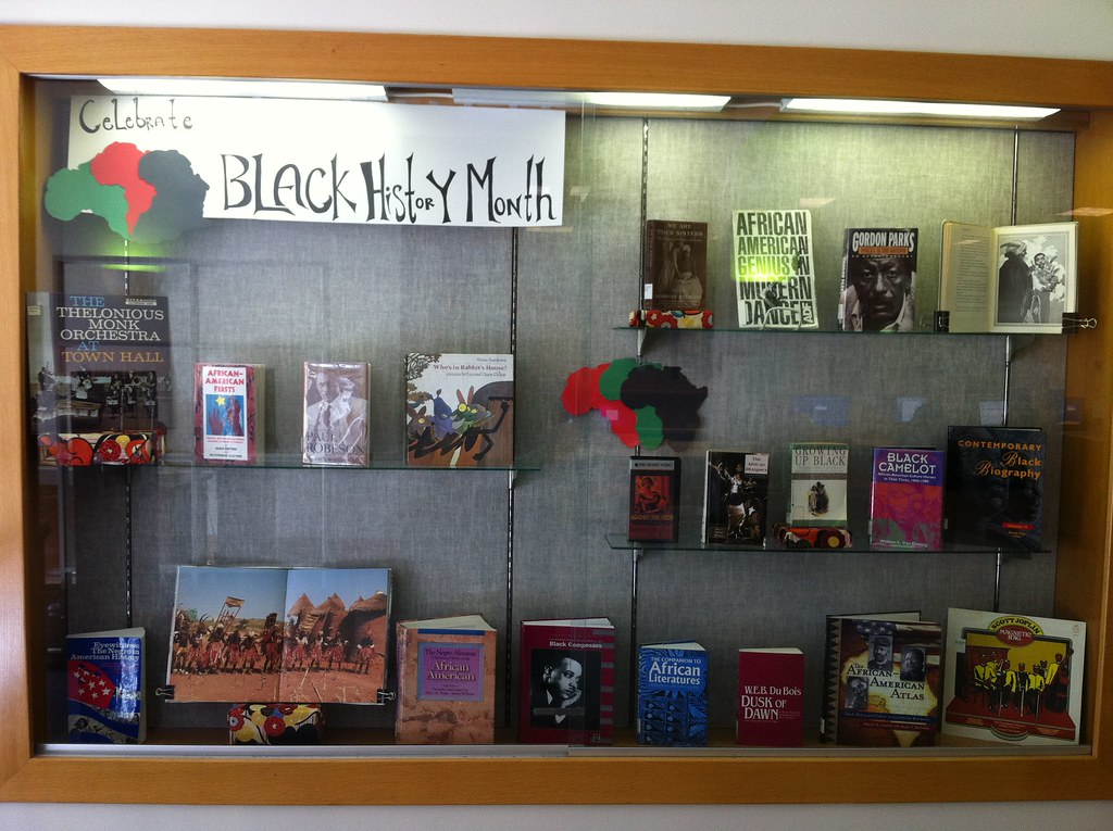 Black History Month Display Mills College Library