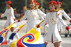 War Memorial of Korea - 전쟁 기념관 - Female Military Honor Guard Drill Team - 여군 시범 부대 - Seoul, South Korea - Yongsan - USFK-6