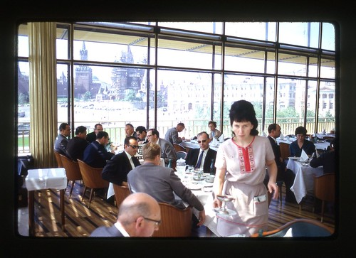 Ask First - Rossiya Hotel restaurant, Moscow, 1969