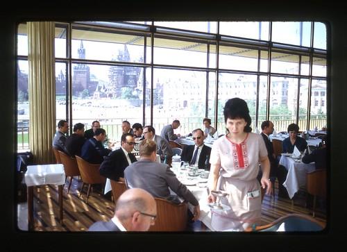 Ask First - Rossiya Hotel restaurant, Moscow, 1969