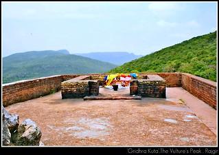 Gridhrakuta.The vulture's peak.Rajgir, Bihar