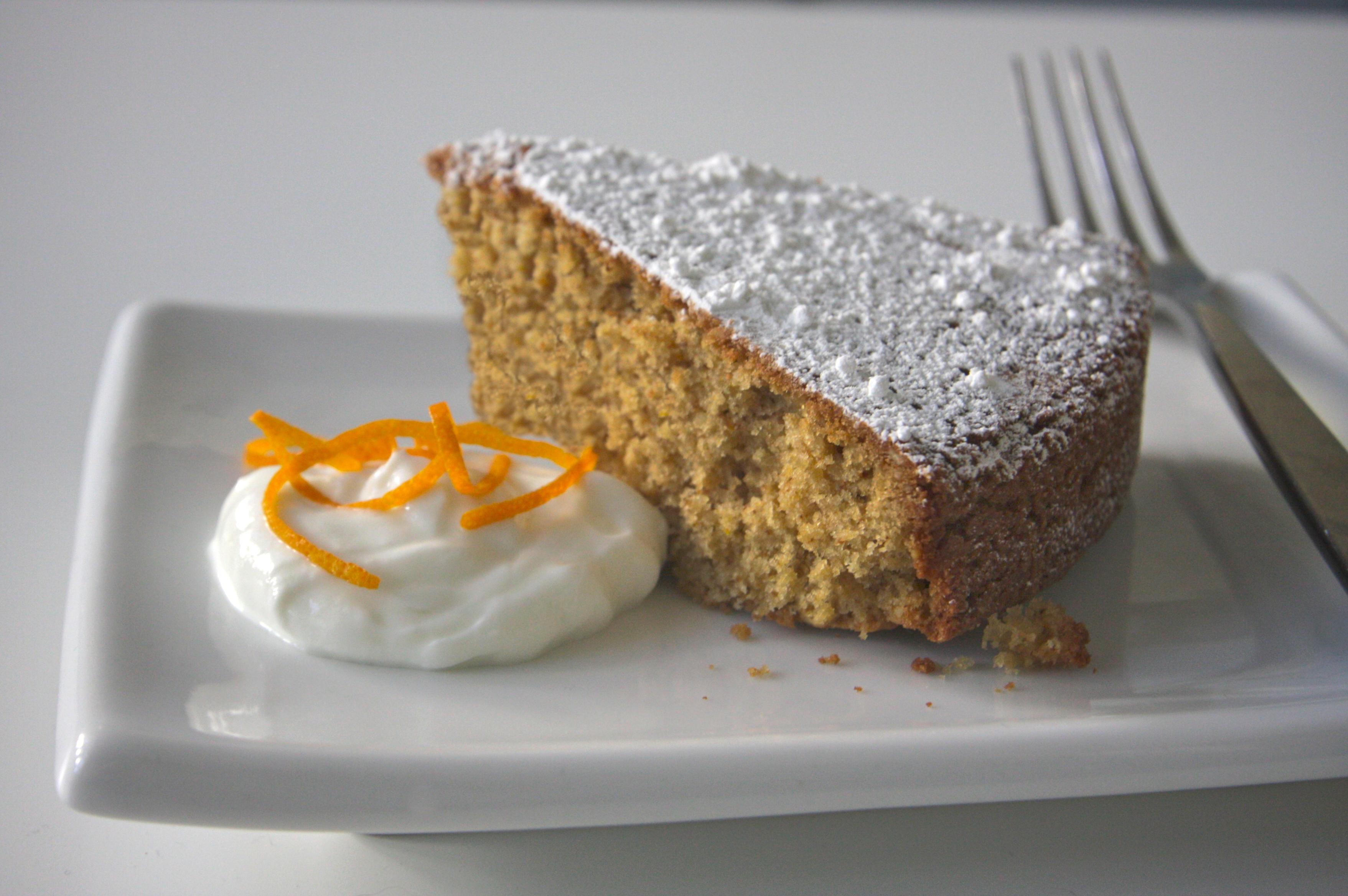 orange walnut cake   Flickr - Photo Sharing!