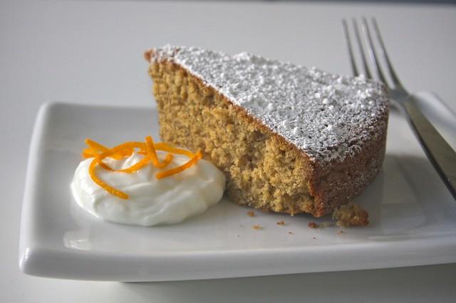 orange walnut cake | Flickr - Photo Sharing!