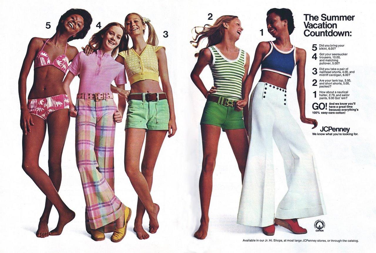 Retrospace: Vintage Style #25: She Wears Short Shorts
