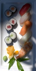 Assorted Sushi, Sushi Bar, Cinnamon Lakeside, Colombo