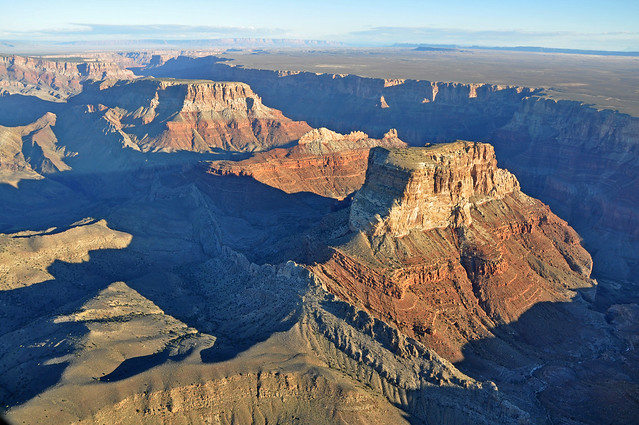 Grand Canyon DEIS Aerial: Kwagunt Butte, Malgosa Crest, Nankoweap Mesa