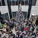 """Musée des Avelines, Saint-Cloud """"Jef Aérosol fait un carton !"""""""