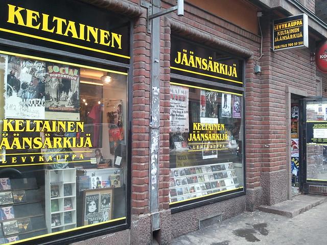 Tienda de discos en Helsinki