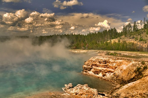 Yellowstone Park Elevation : Elevation of yellowstone national park united states