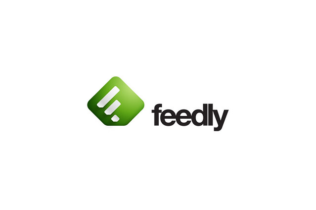 Feedly Logo and iPhone App Design