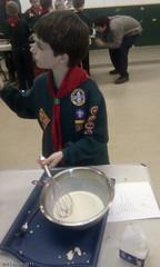 Cub Scout pancakes 2011