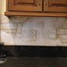 Plaster, Faux & Broken Out Bricks on Backsplash - St. Charles, IL