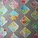 hst quilt in progress by erica's essential suchness